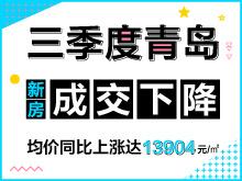 三季度青島新房均價13904元