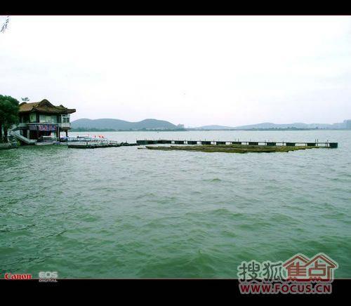 """图:赞贬徐州之规划,曝光""""云龙湖面大煞风景的违建"""""""
