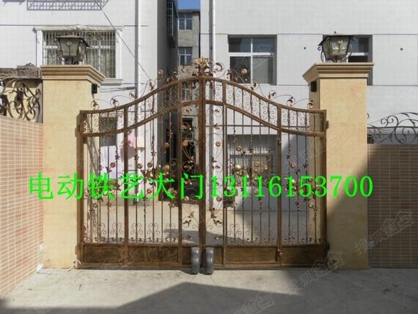 塘沽区安装电动平移门别墅电动门安装13116153700