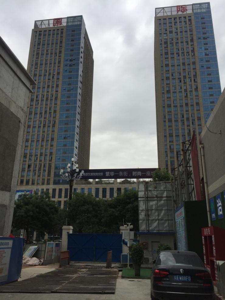 上海华盛大厦面试模特