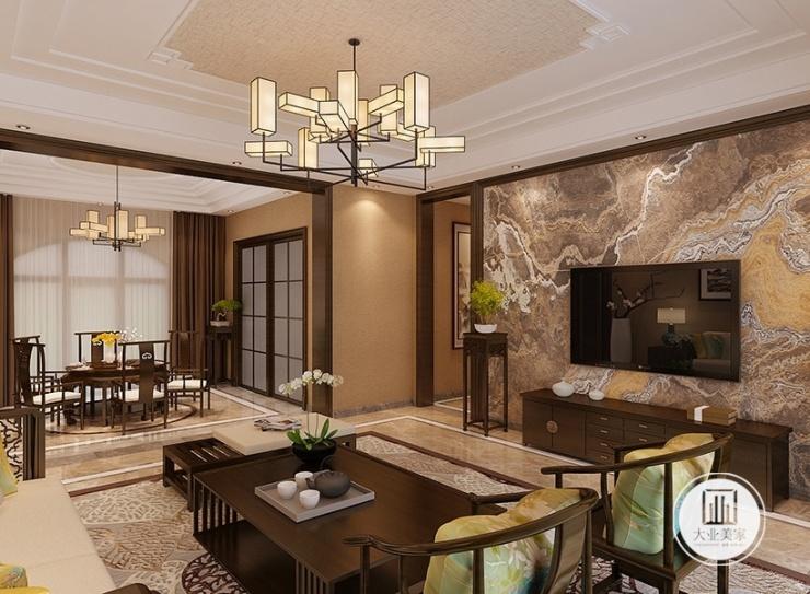 无锡华府装修设计丨别墅租金新中式庄园案例分享风格别墅马来西亚图片