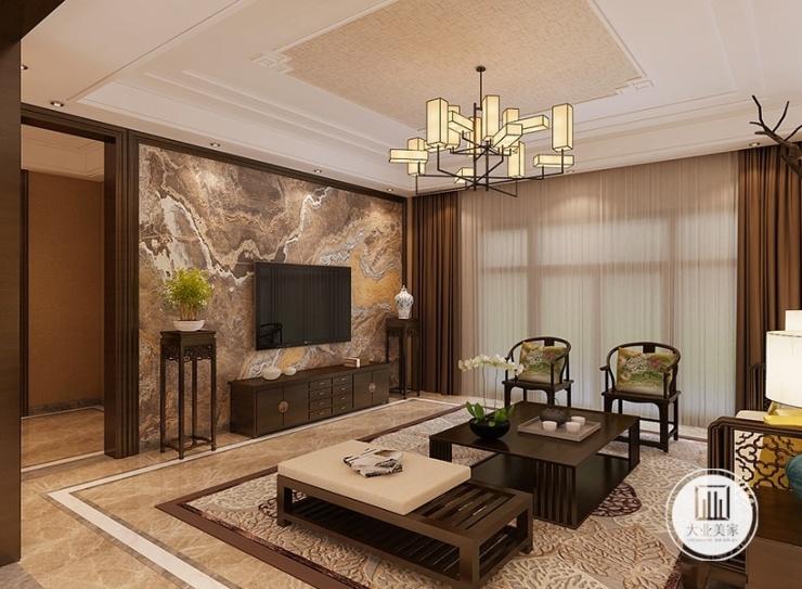 无锡别墅装修设计丨案例别墅新中式华府庄园分享天津300风格万图片
