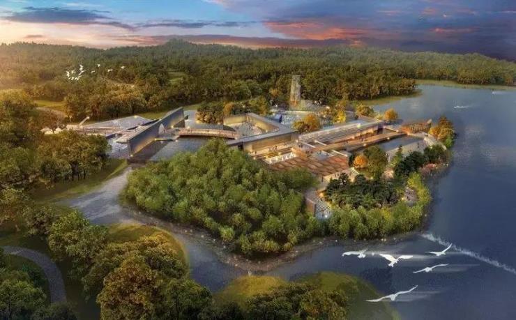 其中: 主题创意展园包括海绵城市展园,康体养生展园,庭院景观展园以及