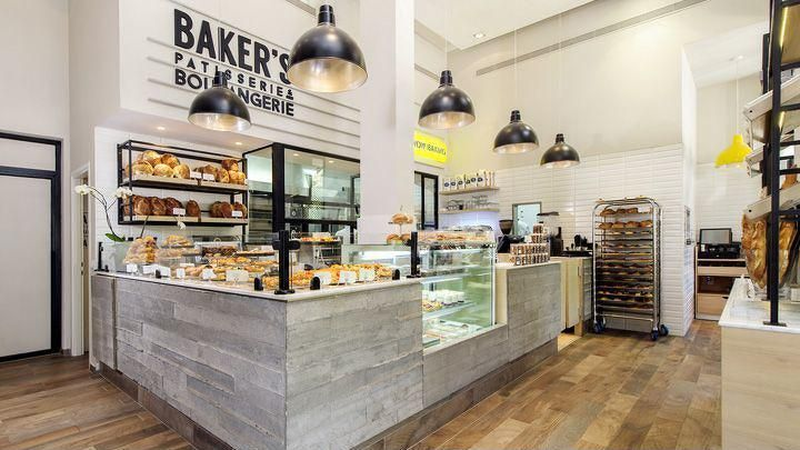 蛋糕店的装修项目一般为:门面设计,墙面,顶面,地面,橱柜,吧台.