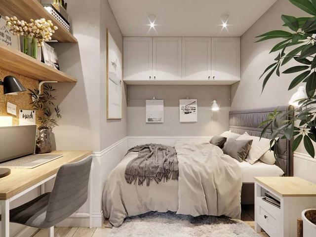 40平酒店式单身公寓装修效果图大全2019图片欣赏-水木