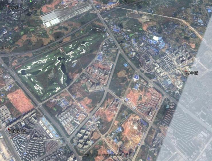 2013年大面卫星地图