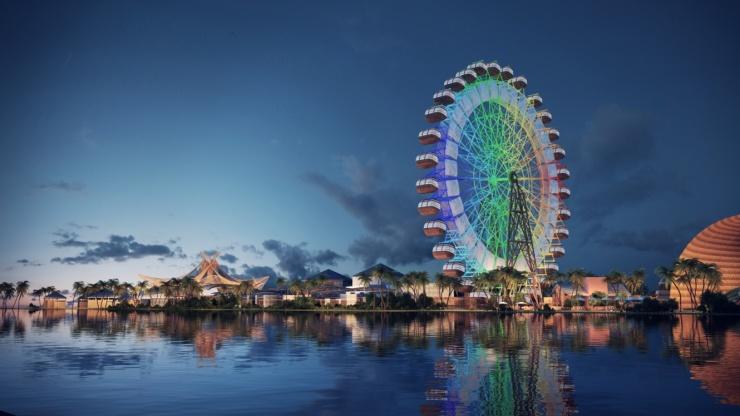 """三亚海昌梦幻海洋不夜城坐落在国家""""黄金海岸""""三亚海棠湾之心,是一座"""
