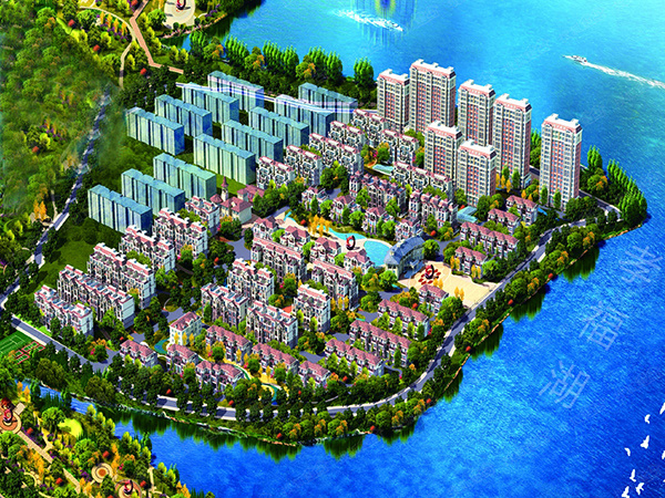 珑湖湾别墅预约别墅v别墅中黄石园林景观高层图片