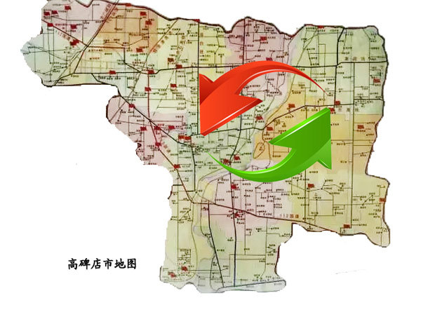 在高碑店市十三五规划中,首次提出了东部新城的概念.