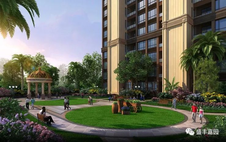 同时 配套儿童游乐区,休闲广场,特色景观大道和商业风情街,二层地下