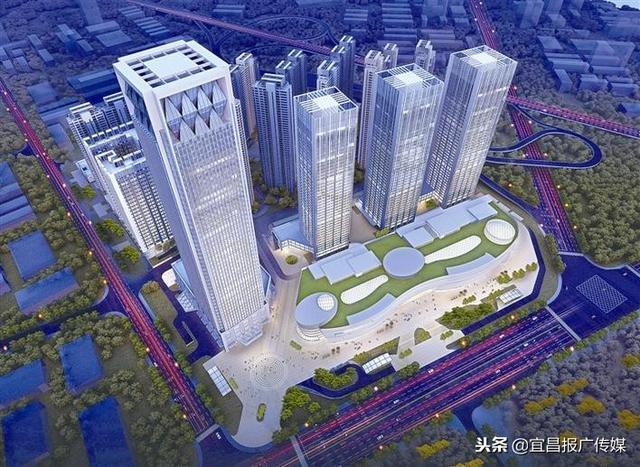 宜昌东站作为城市重要的交通中心,也是宜昌重要的,对外的枢纽门户和图片