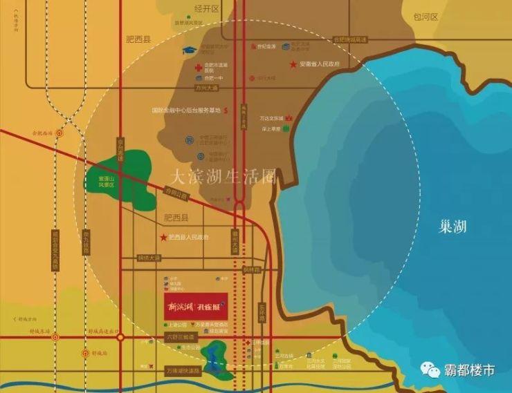 六安风景区分布地图