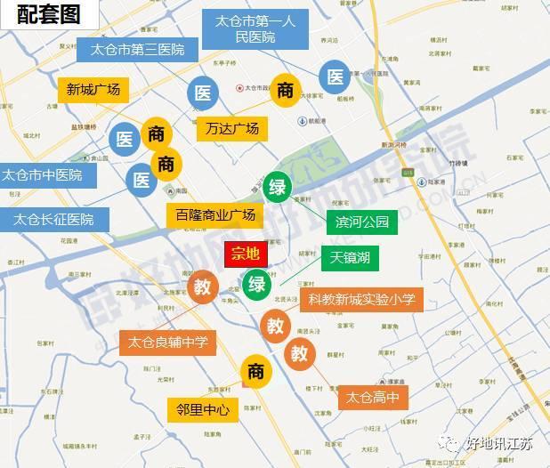 太仓市区规划图