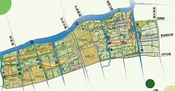 没有字的街道地图