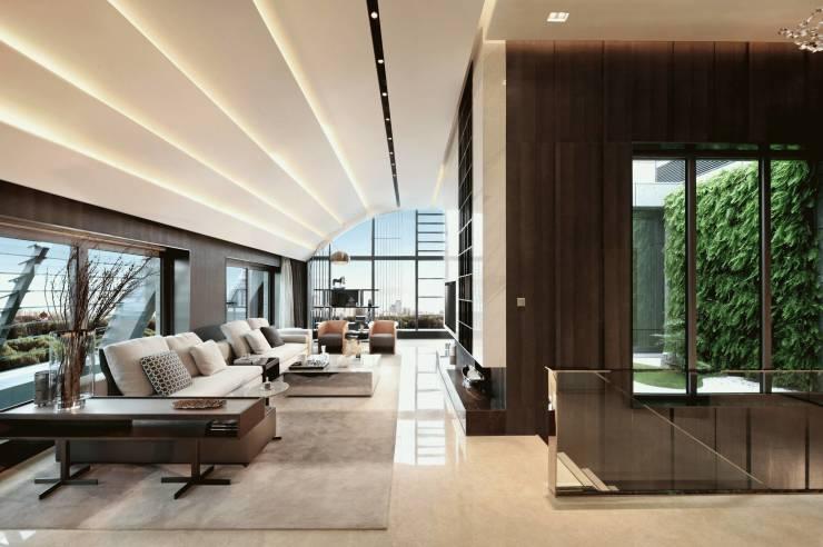 极简黑白灰,超时尚的办公空间设计