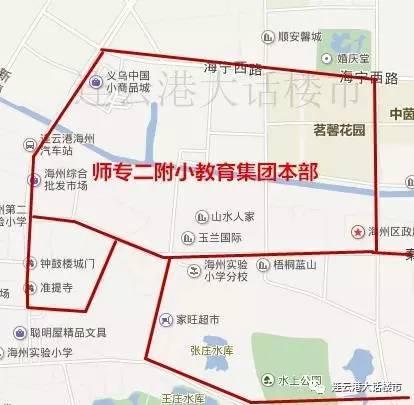信息学区|2017连云港市视频v信息小学及早报房美术小学范围图片