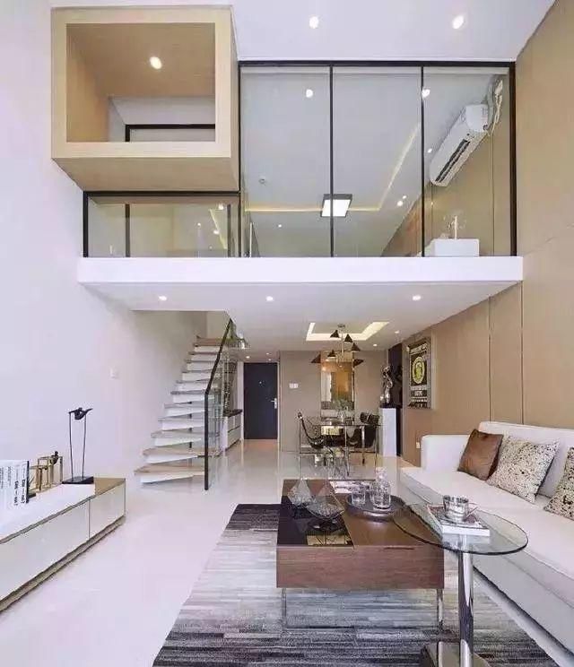 小户型loft,现代简约风格,简洁舒适,让人心动不已
