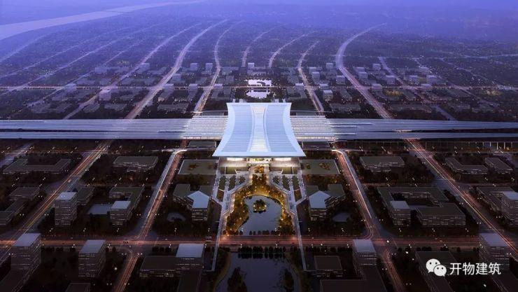 项目地点:雄安新区 设计时间:2017年12月 设计单位:中南建筑设计院股