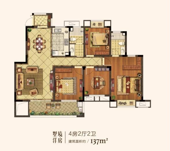 【阔度空间,墅质生活】中南樾府宽景洋房户型全解析