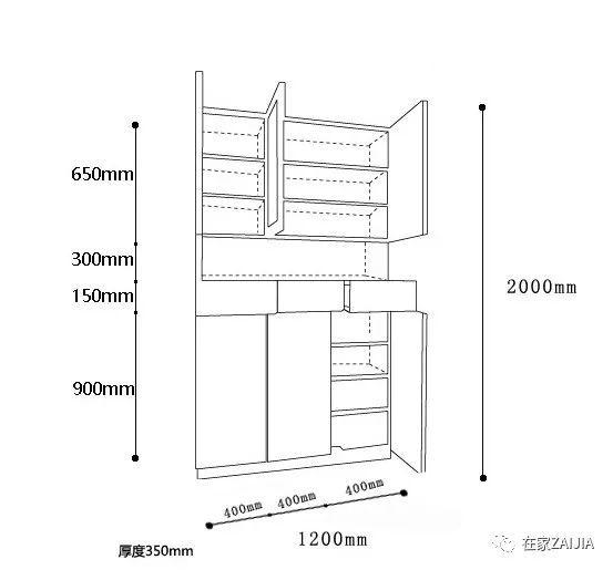 向左滑动 看柜体结构图 鞋柜设置在距离地面15cm的地方,用白色吸塑膜