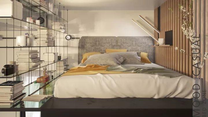 30平loft单身公寓,超强的隐藏式收纳设计!