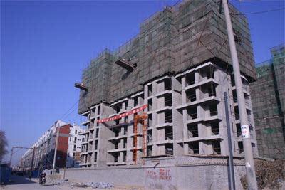 7号楼的施工进度图