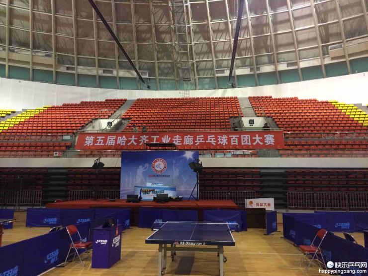 第五届哈大齐工业走廊乒乓球百团大赛历程回顾(汇总贴)