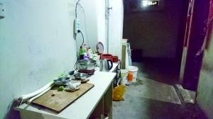 北京石景山区京汉旭城家园地下室私拉电线做饭