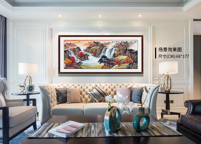 画家宋唐山水国画欣赏 山水美丽景色雅致非凡
