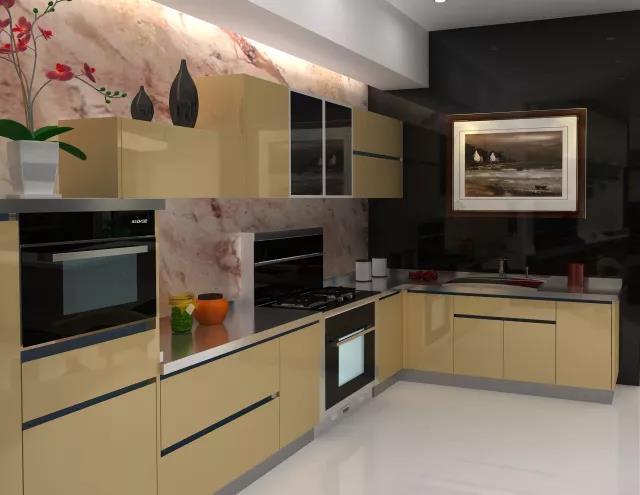 班贝格不锈钢橱柜给予理想型厨房体验