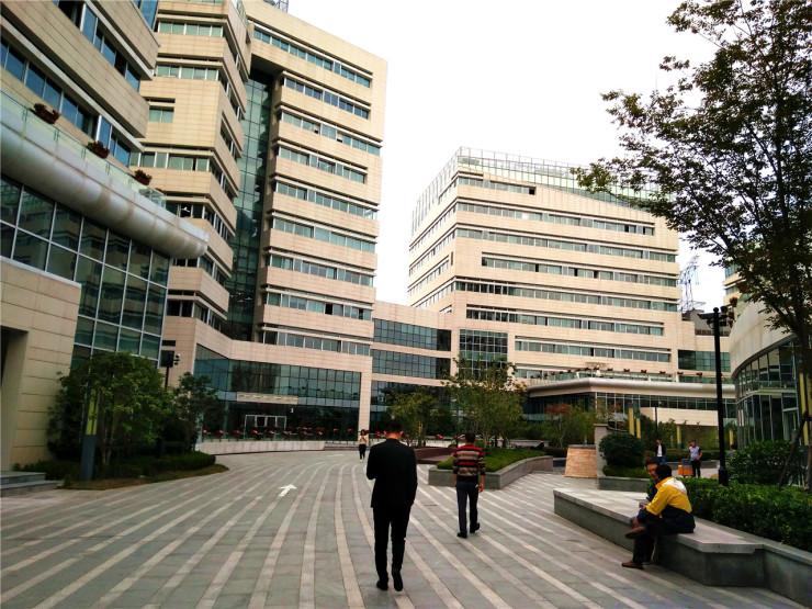 张江盛大独栋研发办公楼 总高六层 近地铁 车位充足