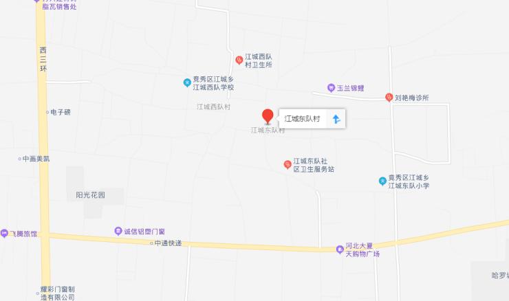 征地丨保定2村征地208亩 涉及江城东队村与西大园村