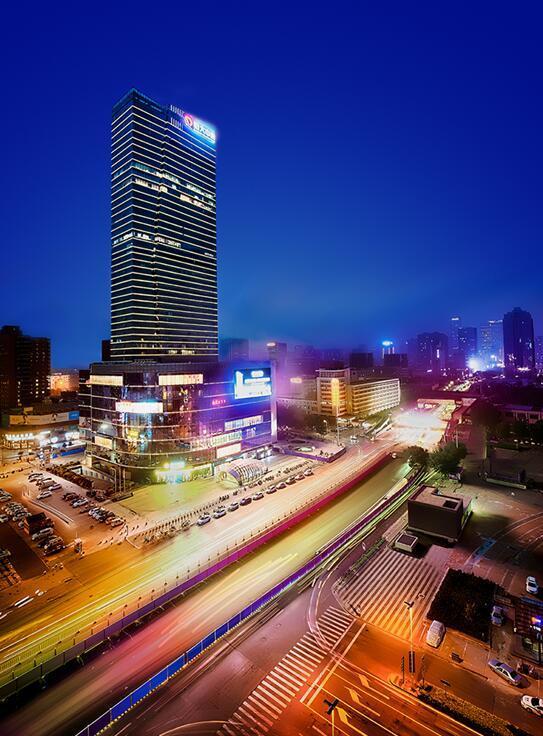 立体交通网 助力推进城市商务格局 造恒大中心繁华