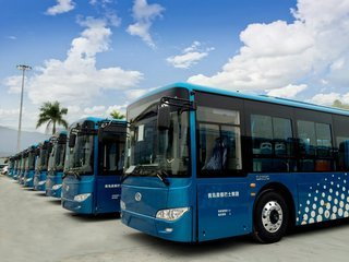贵安新区7路公交车开通 从平坝农场往返贵安新区管委会