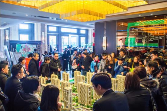 上海第一季度楼市关键词:狂热中环!