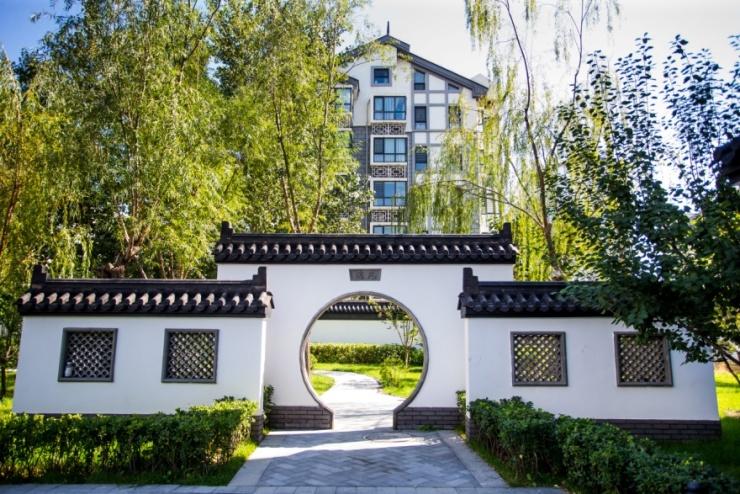 在北京怡园,建筑设计不过是配角