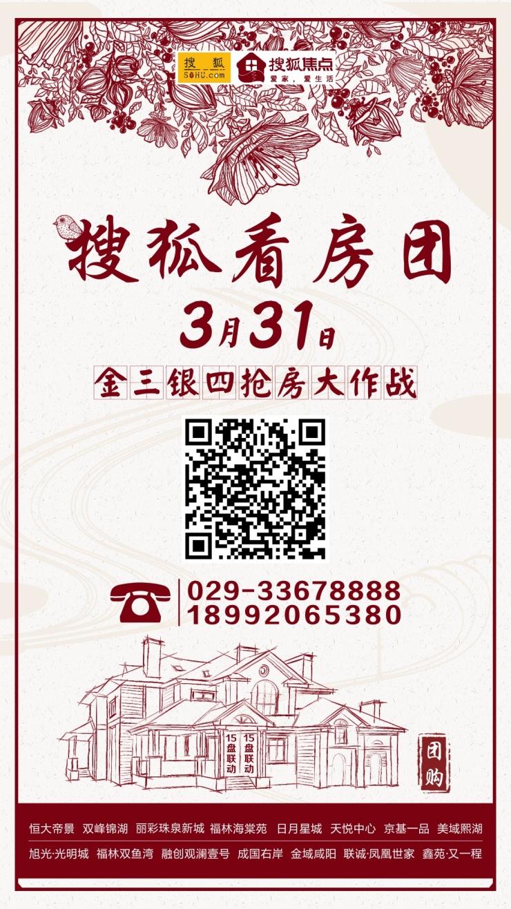 """咸阳楼市热度有增不减 工资赛不过房价买房""""OMG""""!"""