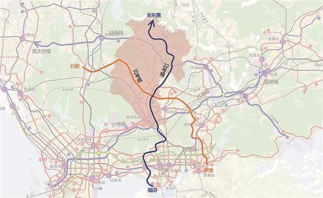 龙华拟建2条新地铁为交通提速 可片区房价却等不起了