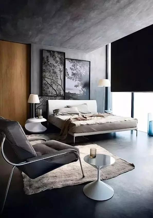 水泥墙风格设计,裸墙也能出豪华!