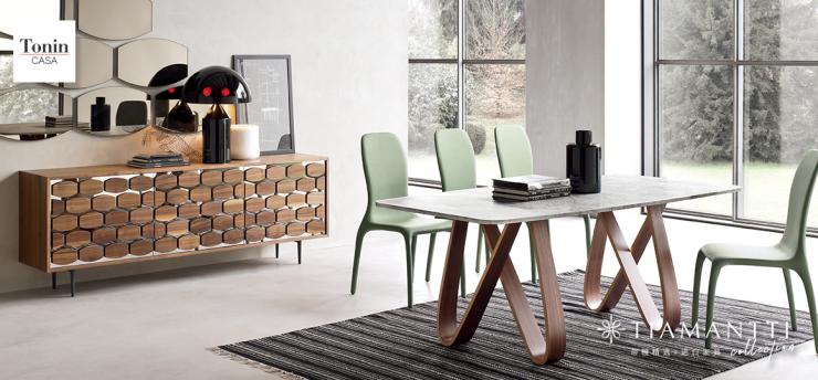 讓空間具備更多的可能性,Tonin Casa高端進口家具