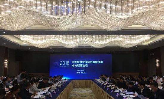 """西部10省份共同提出 """"重庆倡议""""共建南向通道"""