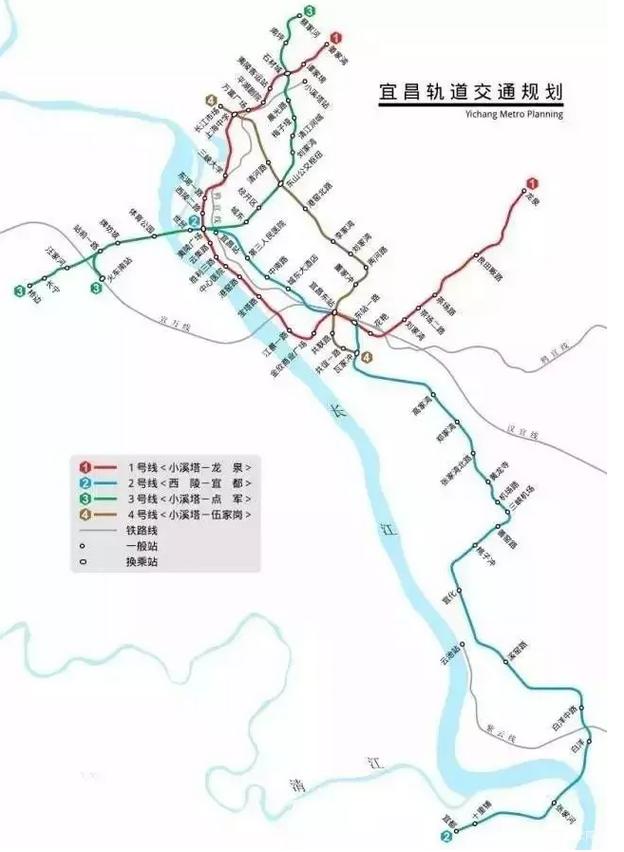 宜昌成为湖北地铁第二城 两年或将开通3条地铁