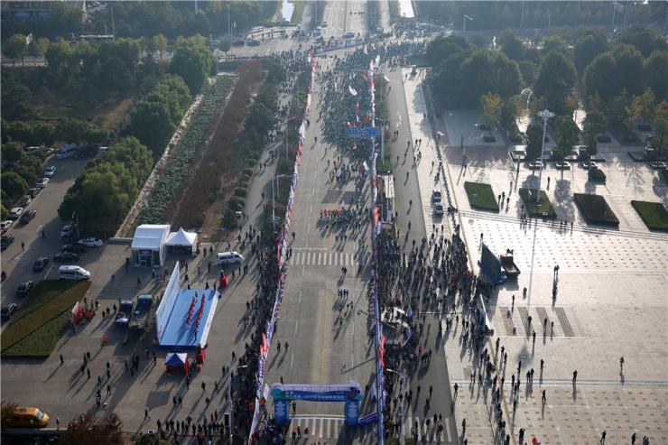 2018洪泽湖国际马拉松让洪泽旅游热力迸发