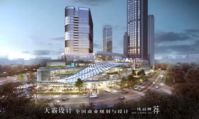 南昌王府井购物中心设计赏析