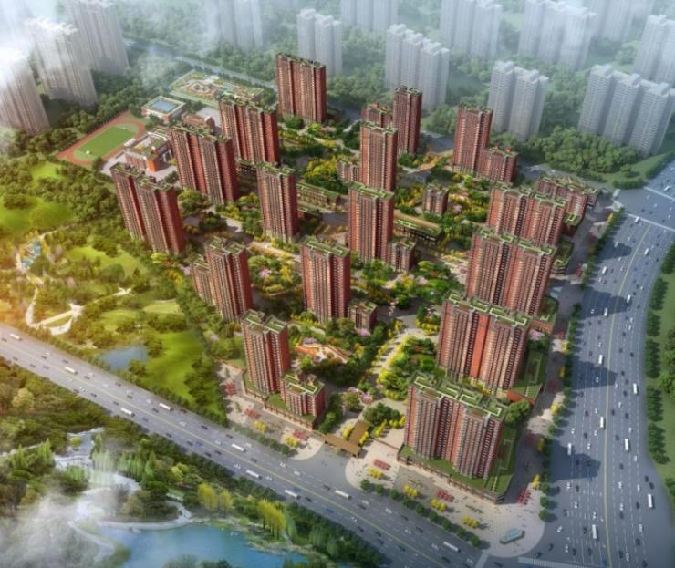 山西首个装配式钢结构绿色科技住区山钢铭著开工奠基