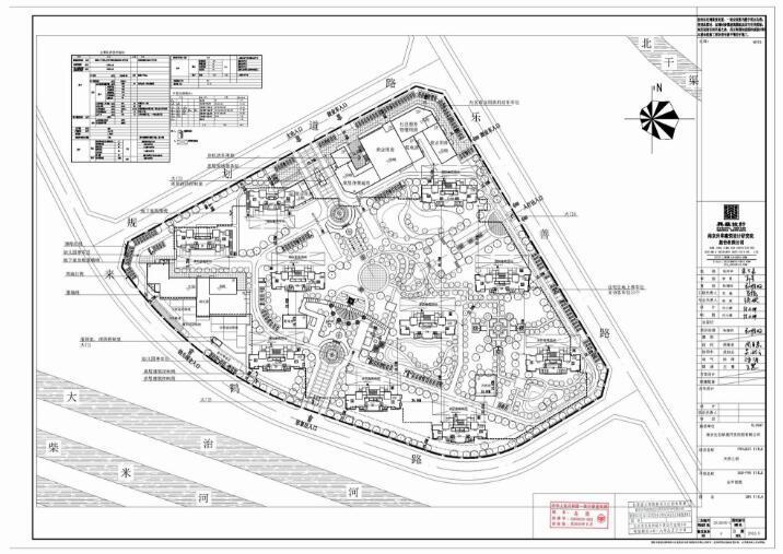 生态新城安置房 天然之府建设工程设计方案批前公示