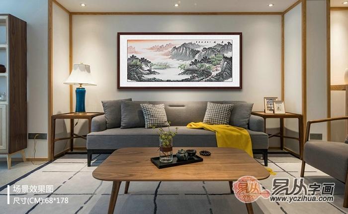 宋唐国画欣赏 山水秀雅景色优美多变