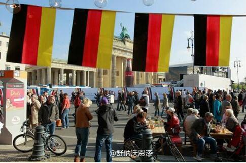 当中国国庆节遇上德国统一日,舒纳沃恩漆欢庆加倍!