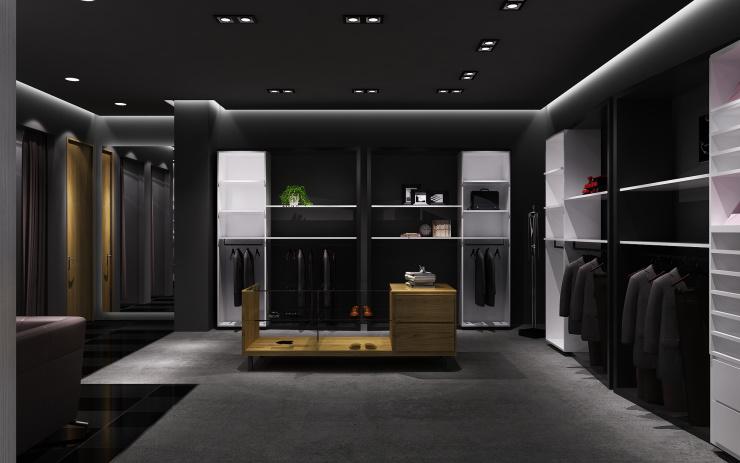 司登男装概念店铺方案设计-刘贺东作品