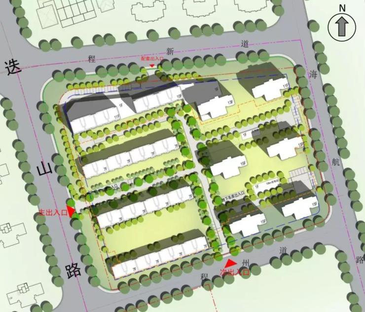 万科东丽地块规划 8栋小高+3栋洋房共577套房源补给小王庄